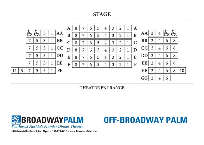 The Best Broadway Seating Charts